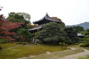 鹿王院の庭園