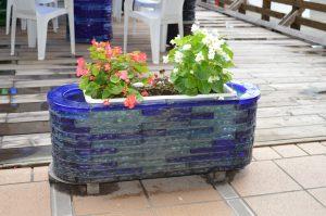 ビードロ花壇