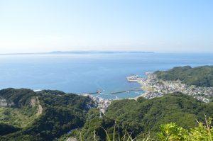 ノコギリヤマからの東京湾