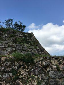 竹田城の石垣