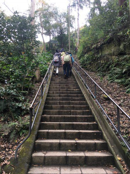洪鐘への魔の階段