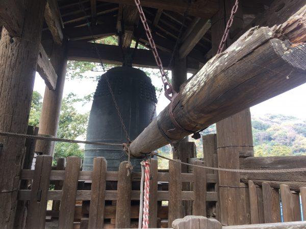 円覚寺の鐘突き堂