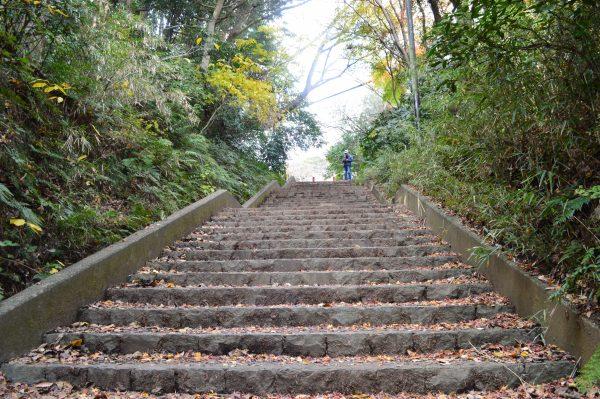 源氏山公園階段