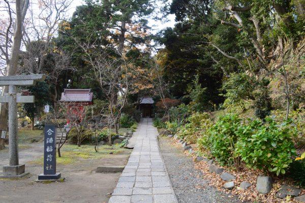 葛原岡神社の参道