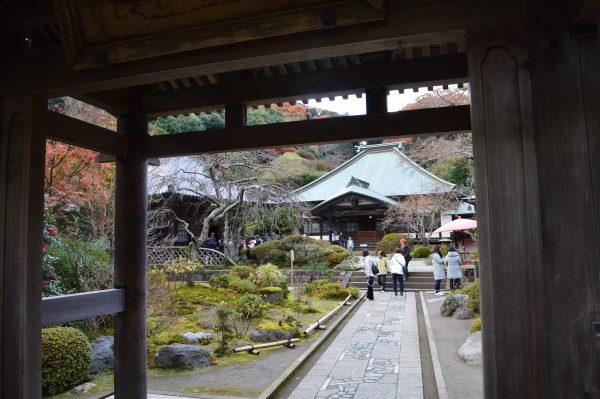 海蔵寺境内