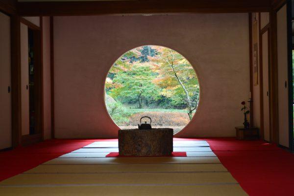 いわゆる明月院の円窓