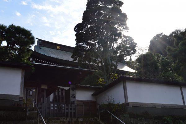 光と建長寺の「妙光院」