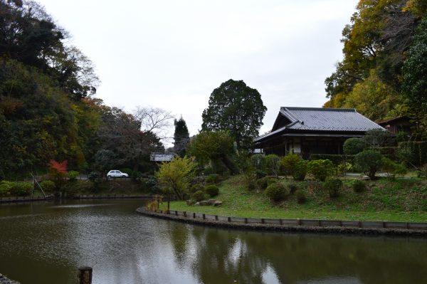回春院の池