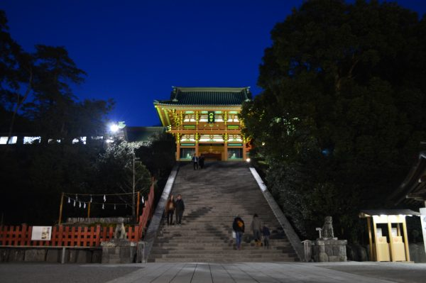 鶴岡八幡宮 ライトアップ