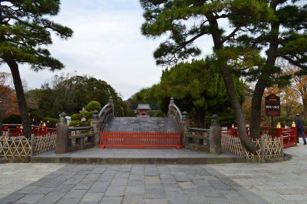 鶴岡八幡宮の橋