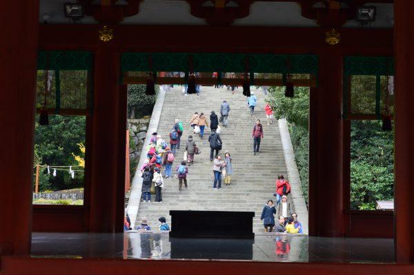 鶴岡八幡宮の舞台