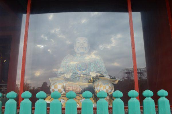 鶴岡八幡宮の木像