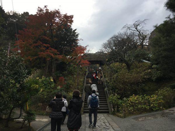 東慶寺入り口
