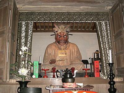閻魔大王座像