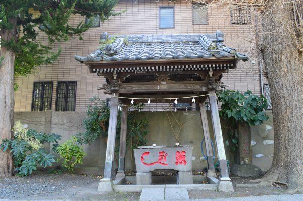 蛭子神社の手水場