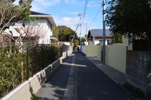 宇都宮辻子稲荷神社への道 その2