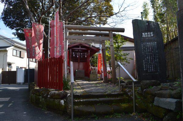 宇都宮辻子稲荷神社の鳥居