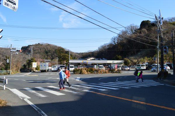 鎌倉 県道204号 ミニストップ