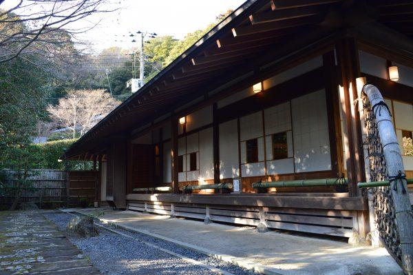 茶室 喜泉庵の縁側