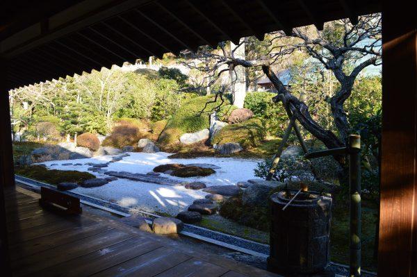 茶室 喜泉庵の庭園 その1