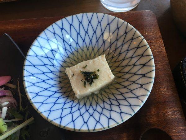 カエデナのゴマ豆腐