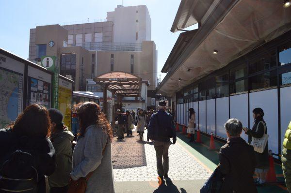JR鎌倉駅 東口