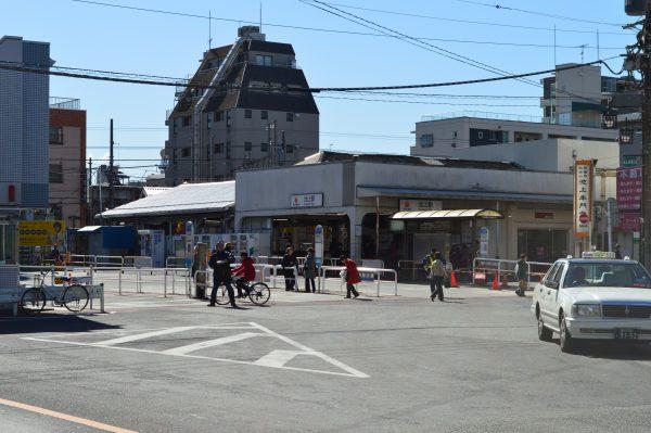 東急池上線 池上駅前広場