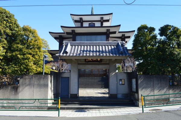 本門寺 常仙院入口