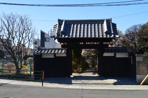本門寺 中道院外観