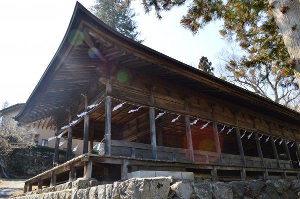 諏訪大社上社前宮 神殿