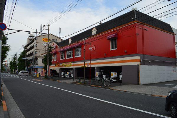 太田神社へのアクセス デニーズ池上通店