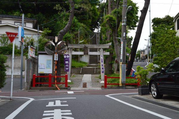 太田神社へのアクセス 太田神社到着