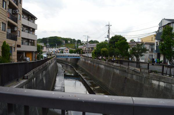 太田神社へのアクセス 堤方橋と呑川②