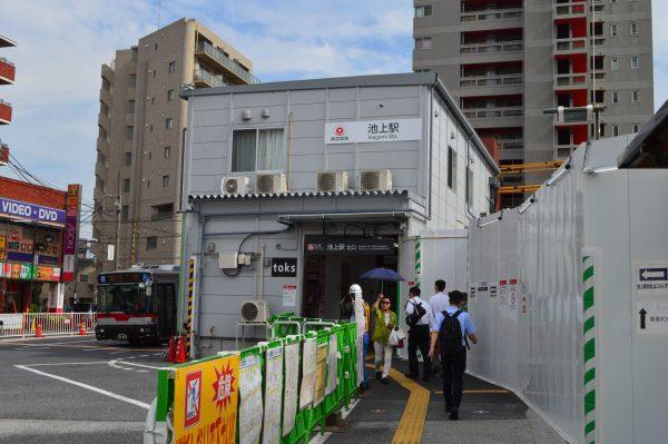 池上駅から太田神社へアクセス