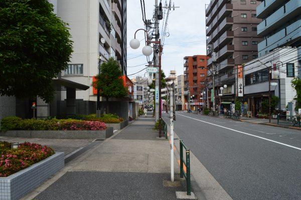太田神社へのアクセス 池上通り