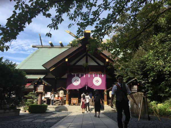東京大神宮 本殿