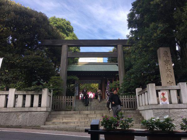 東京大神宮 白木の鳥居