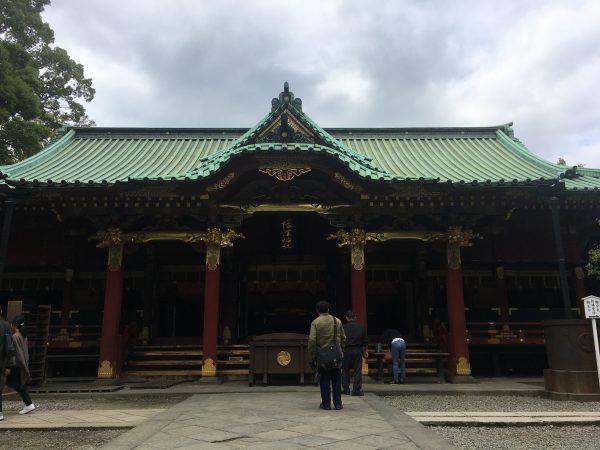 根津神社 御社殿