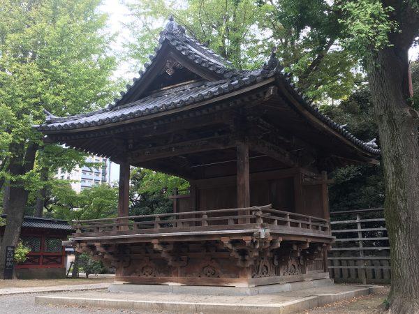 根津神社 舞殿