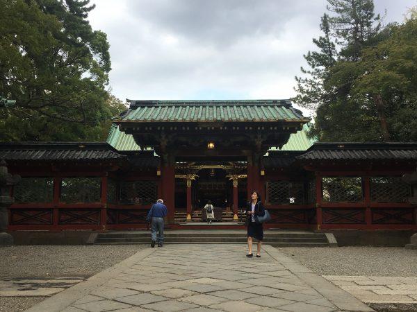 根津神社 唐門