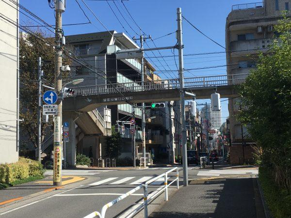 双葉町 東急バス(株)営業所付近