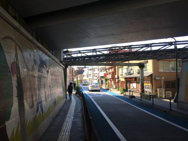 JR西大井駅 高架下