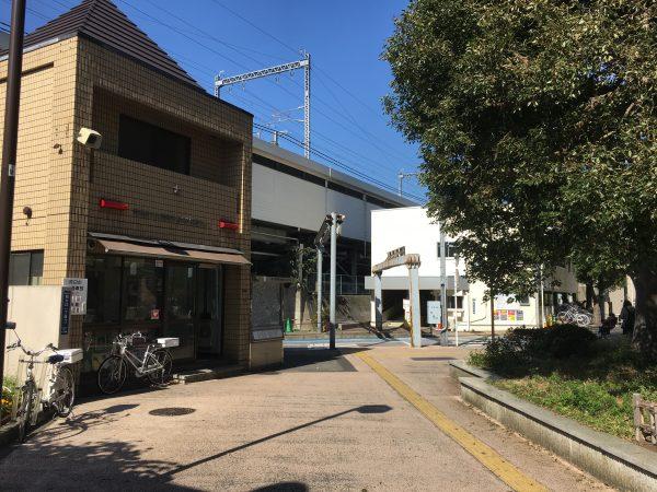 西大井駅前交番