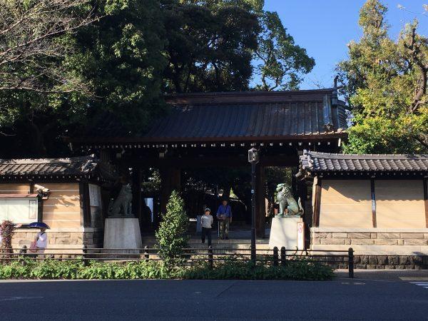 靖国神社へのアクセス 靖国神社南門