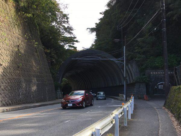 巨富呂切通しトンネル