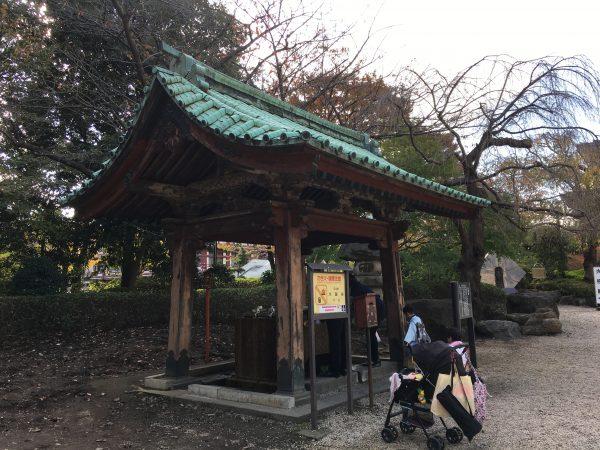 増上寺 手水舎