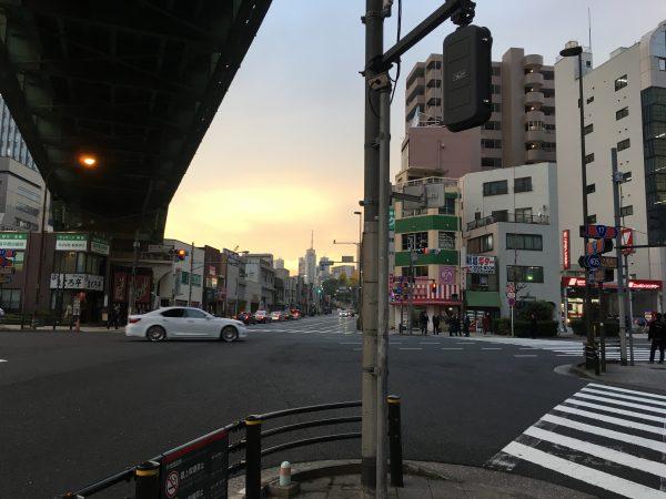 昌平橋交差点