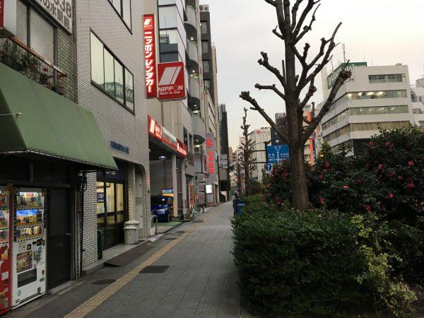 ニッポンレンタカー 秋葉原営業所