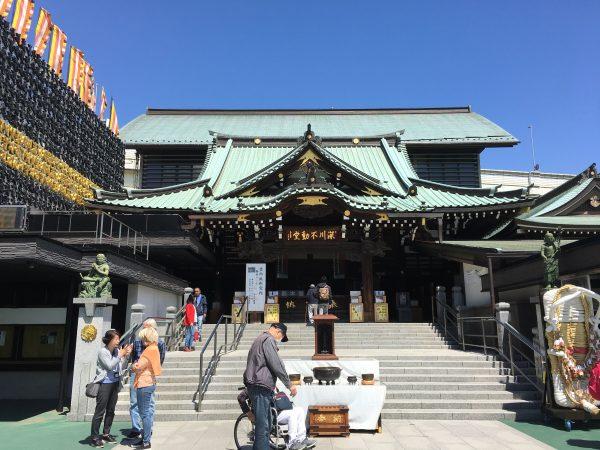 最寄り駅「門前仲町」から「深川不動堂」へアクセス!