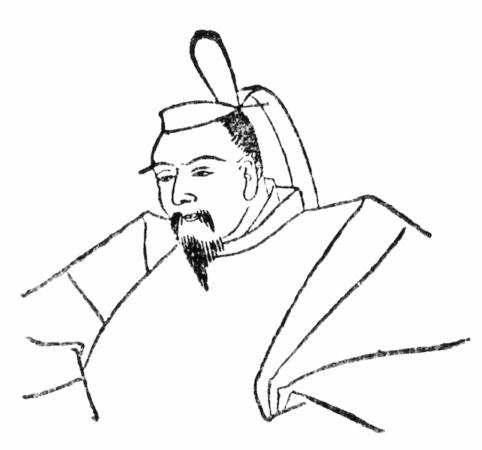 北条時氏の肖像画